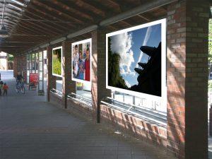 Foto-Galerie am S-Bahnhof Nettelnburg